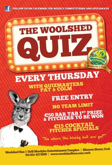 Woolshed Quiz