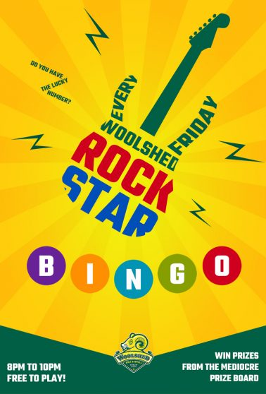 Rock Star Bingo