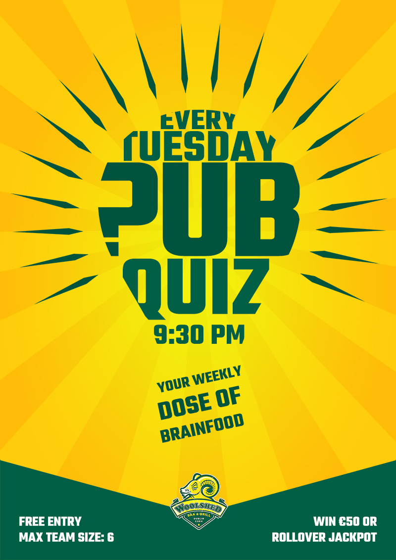 Pub Quiz – Dublin
