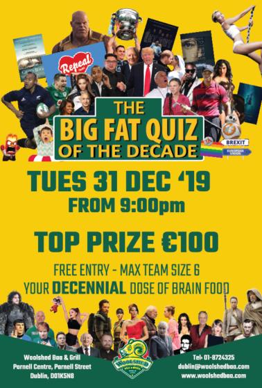 Big Fat Quiz of the Decade