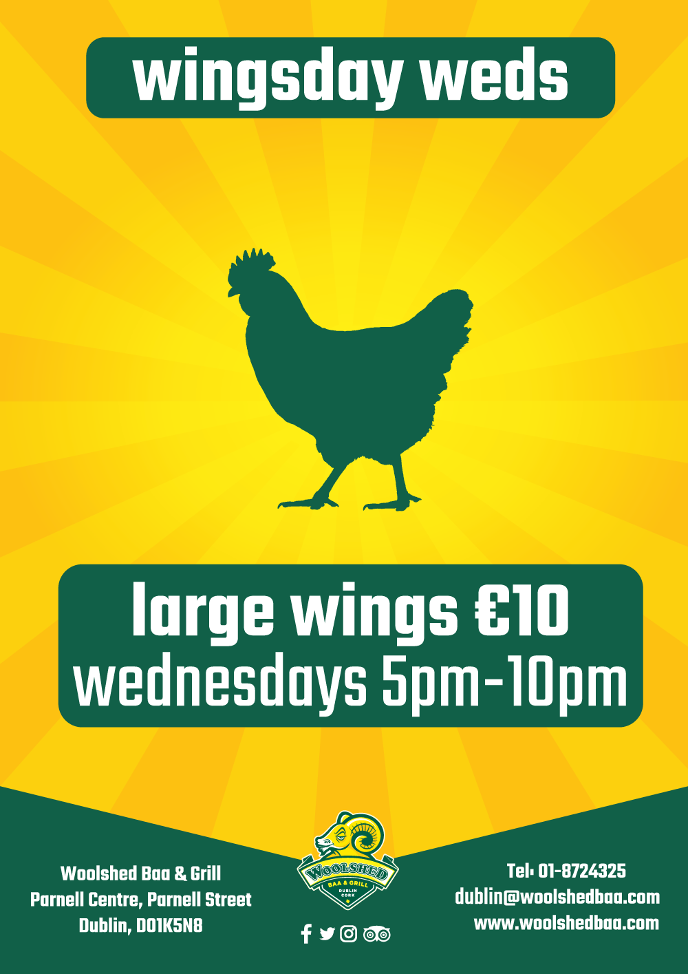 Wingsday Weds